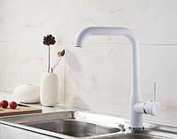 Смеситель для кухни SANTEP 14023W Белый