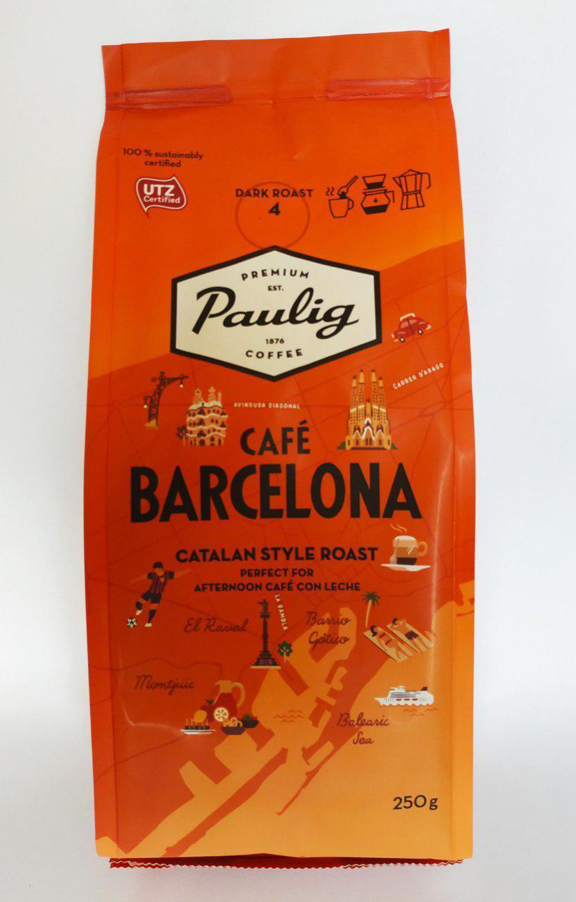 Молотый кофе Paulig Barcelona 250 гр.