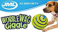 Игрушка-мяч для собак  Wobble Wag Giggle
