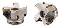 Фреза Vorgen торцевая с механическим креплением твердосплавных пластин  VRF90-TP16-D100-d32-Z06 VORGEN
