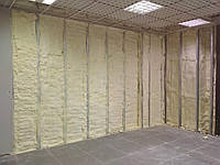 Утепление стен пенополиуретаном (напыление ППУ ) !!!
