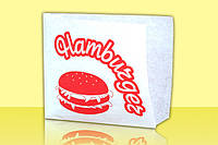 Бумажный пакет для гамбургеров