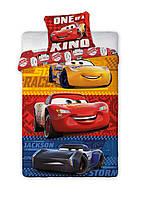 Комплект постельного белья Детский NR 1316 Detexpol 4720 Красный, Синий, Оранжевый, Желтый