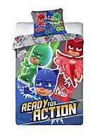 Комплект постельного белья Детский NR 1345 Faro 6946 Красный, Синий, Зеленый