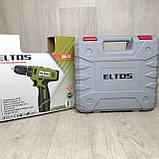 Шуруповёрт аккумуляторный Eltos ДА 12 в кейсе, фото 2