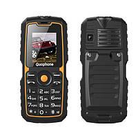Противоударный телефон guophone v3s - влаго и пыле защищенный телефон
