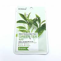 Увлажняющая тканевая маска с зеленым чаем EUNYUL Natural Moisture Mask Pack-Green Tea - 25 мл