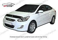 Дефлектор капота Nissan Tino 00-06 (Vip Tuning)