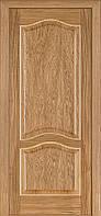 Двері Classic 03, полотно+коробка+1 до-кт наличнков, шпон, дуб світлий