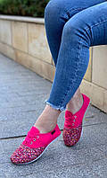 Кроссовки женские 6 пар в ящике розового цвета 36-41