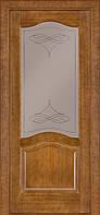 Двері Classic 03, полотно+коробка+1 до-кт наличнков, шпон, дуб темний