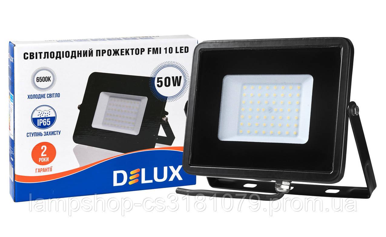 Прожектор светодиодный FMI 10 LED 50Вт 6500К IP65