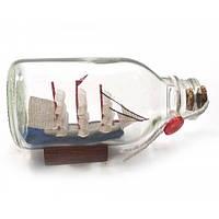Сувенир морской Парусник в бутылке