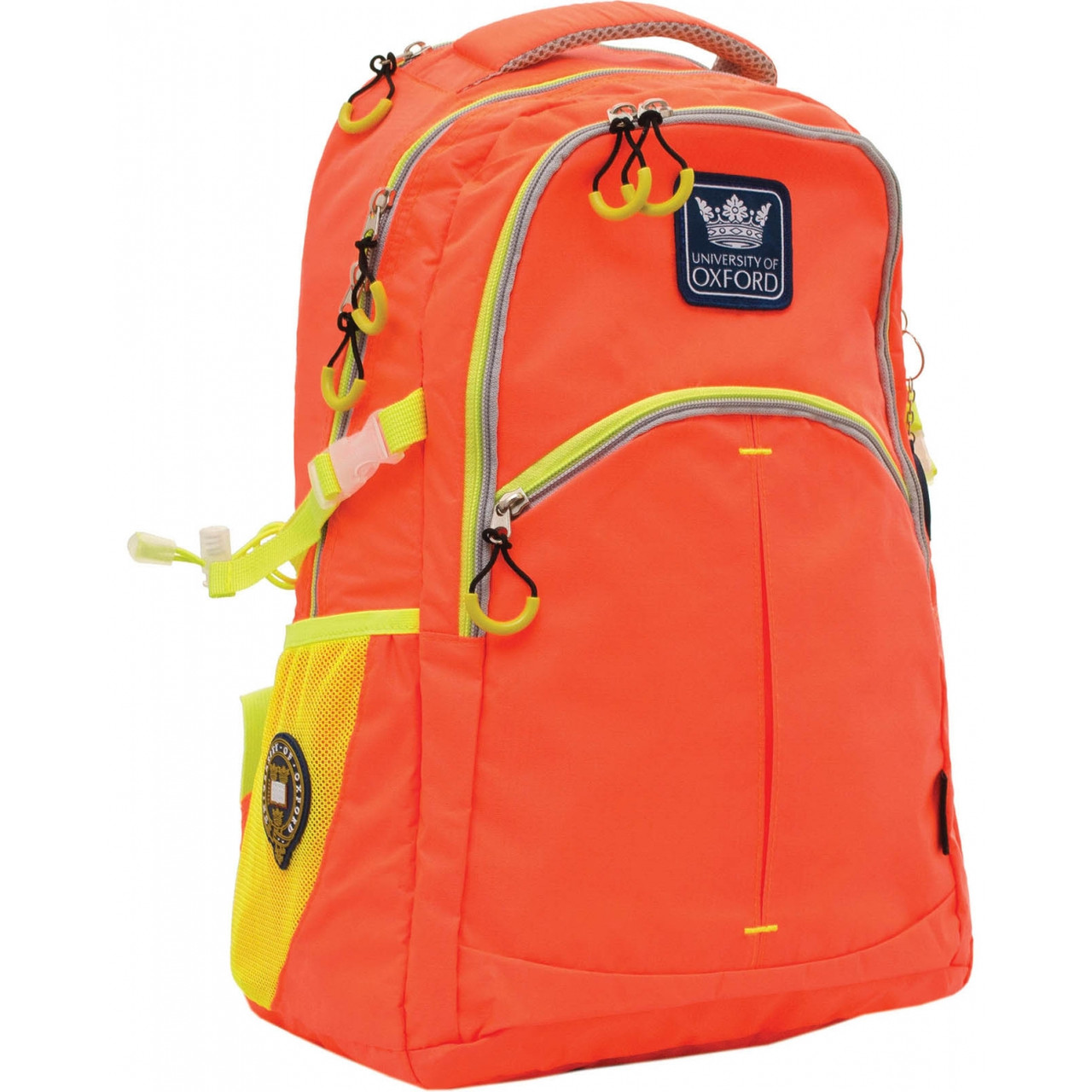 "Рюкзак подростковый Yes Х231 ""Oxford"" 31*13*47 см оранжевый (552866)"