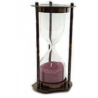 Подарочные песочные часы бронзовые