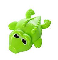 Водоплавающая игрушка K999-209-1 (Лягушка) заводная, на листе, 15-20-4см (Крокодил)