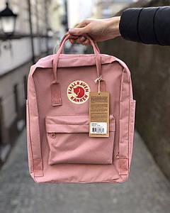 Рюкзак Kanken Fjallraven Classic 16л Розовый - Реплика ААА Класса!