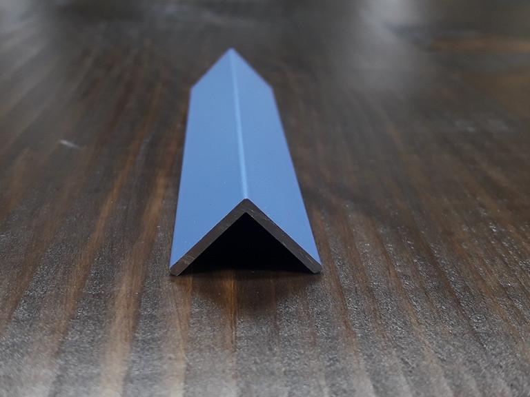 Уголок алюминиевый, синий 15х15х1,5