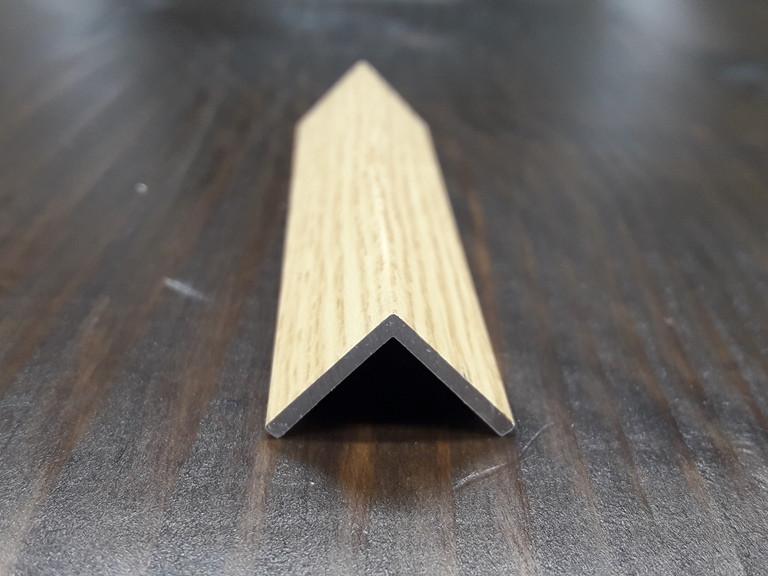 Уголок алюминиевый, фиам светлый 15х15х1,5