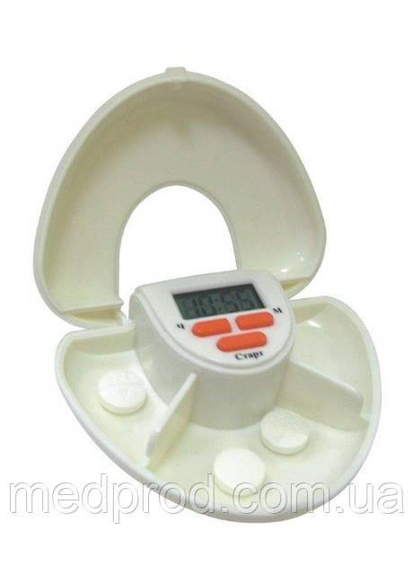 Таблетница электронная на 3 приема контейнер для таблеток