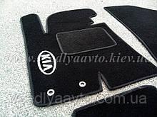 Водительский коврик ворсовый для  KIA Sportage lll с 2010 г.