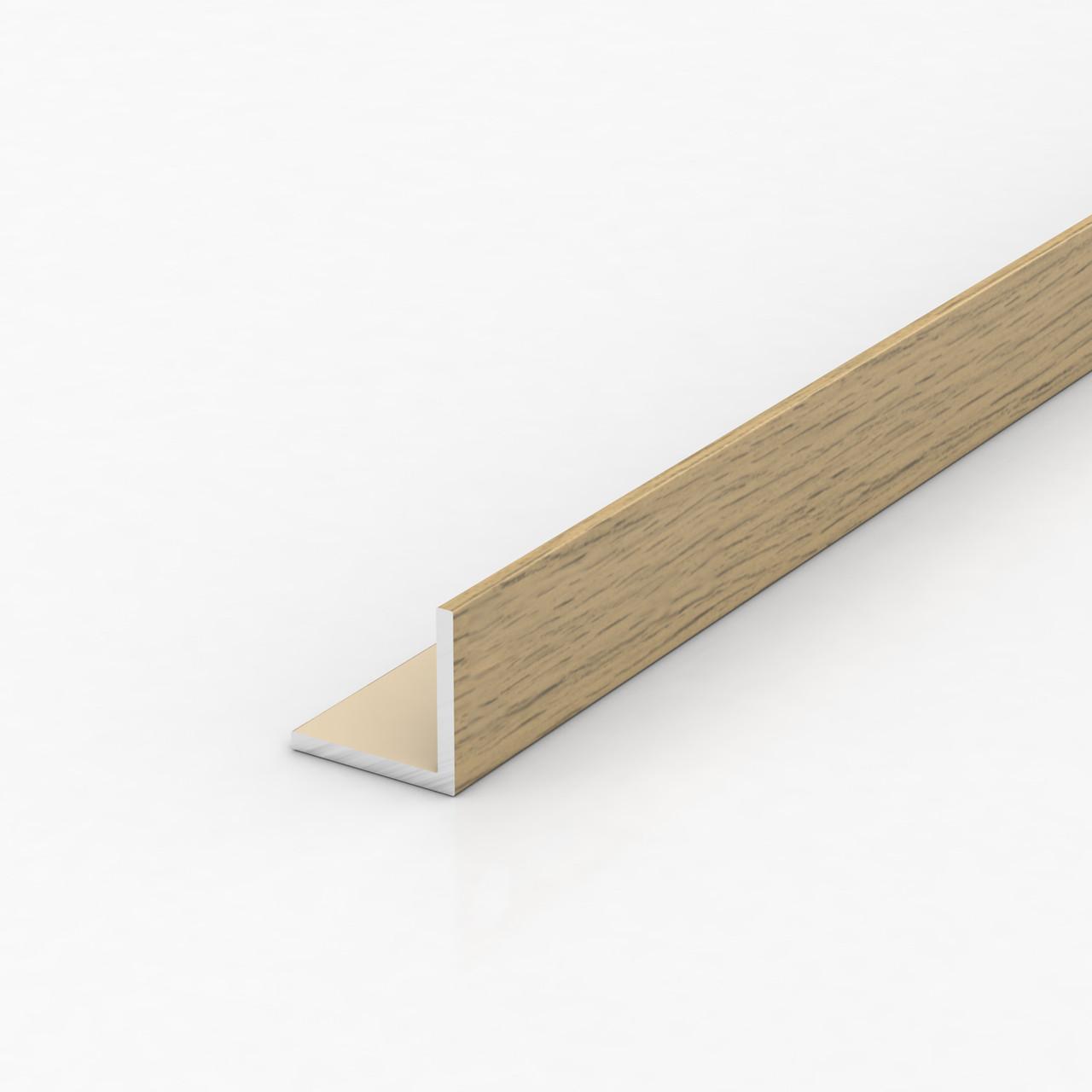 Уголок алюминиевый, фиам темный 15х15х1,5
