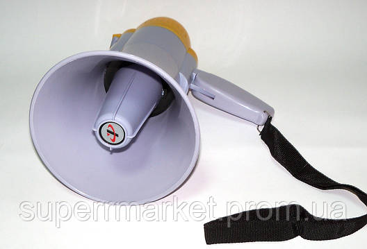 Громкоговоритель  Рупор  мегафон Yaochen HW-8C 15W Megaphone, фото 2
