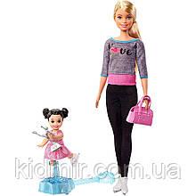 Лялька Барбі Тренер з фігурного катання Barbie Ice Skating Coach FXP38
