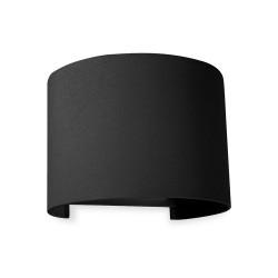 Архітектурний світильник DH013 2х3W 3000K 450Lm 135х115х100мм IP54 накладної чорний