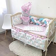 Комплект в детскую кроватку  «Принцесса»