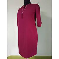 Платье женское большого размера осеннее 58 для полных женщин нарядное (52, 54, 56)батал №063