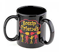Кружка с 3 ручками Gossip Friends