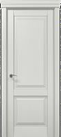 Двери Папа Карло ML-10 белый мат, витраж, высота 210 см