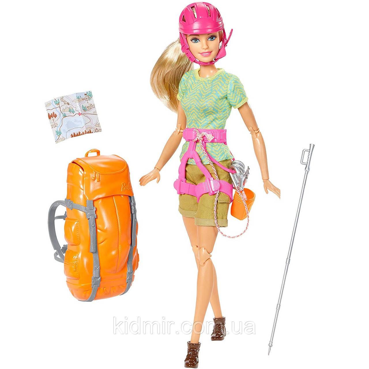 Кукла Барби Скалолазка Альпинистка Barbie Made to Move Ultimate Rock Climber FGC97