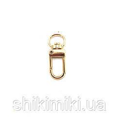 Карабин для сумок KR34-3 (32 мм), цвет золото