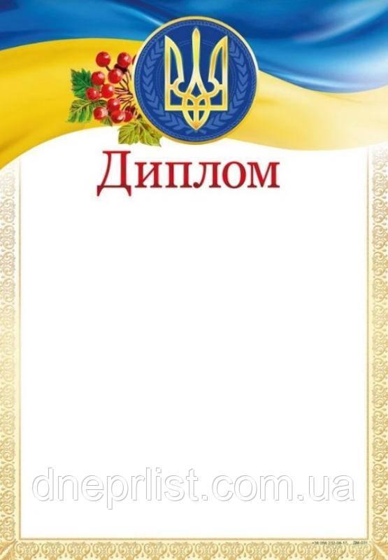 Бланк Диплом, А4 (№031)