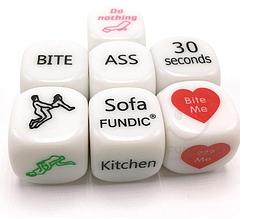 Игральные кости эротические для игры в постели для пары (фанты)