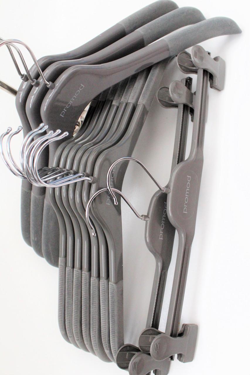 Вешалки плечики флокированные (бархатные) Promod