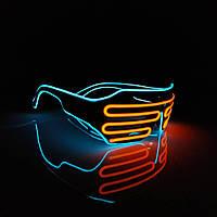 Неоновые очки Neon Glass, фото 1