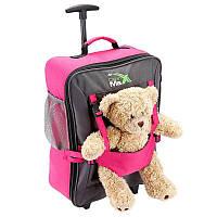 Детский чемодан для ручной клади Cabin Max Bear Pink, фото 1
