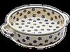 Керамическая форма для выпечки и запекания с ручками 18  Вlue Florets