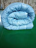 Одеяло из овечьей шерсти двуспальное теплое бязь голд 100%-овечья шерсть плотность 630г/м2, 180x220см.