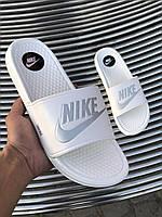 Сланцы Nike Slides White with grey