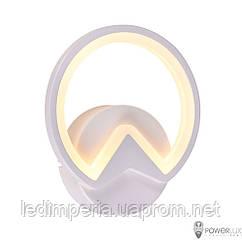 Настенный светильник LED POWERLUX 10W 3000K white