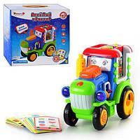 Развивающая игрушка Весёлый трактор ZYE-E 0073  Умный Я