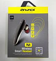 Bluetooth  гарнітура Awei N1 Wireless Smart Headset