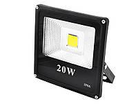 Светодиодный прожектор SLIM YT-20W COB, 1800Lm, IP66