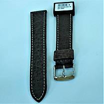 20 мм Кожаный Ремешок для часов CONDOR 307.20.02 Коричневый Ремешок на часы из Натуральной кожи, фото 2