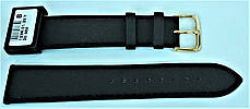 20 мм Кожаный Ремешок для часов CONDOR 123.20.01 Черный Ремешок на часы из Натуральной кожи, фото 3