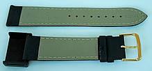 20 мм Кожаный Ремешок для часов CONDOR 123.20.01 Черный Ремешок на часы из Натуральной кожи, фото 2